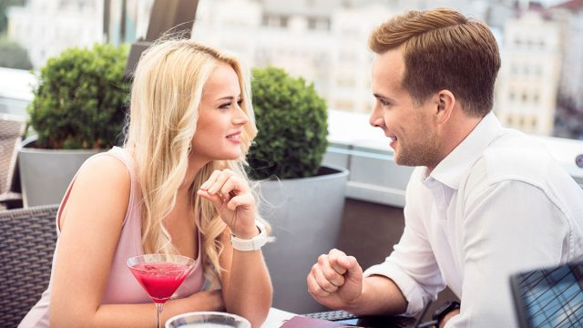 Flirt With a Virgo Man by Making Eye Contact